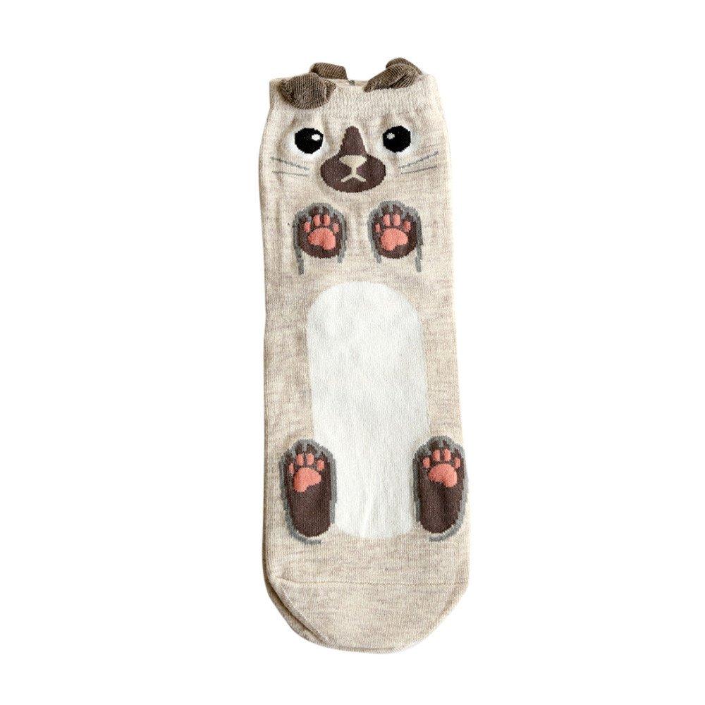 Teen Girls Cute Lovely Socks Cartoon Animal Zoo Women Socks Ladies Girls Cotton Warm Soft Socks