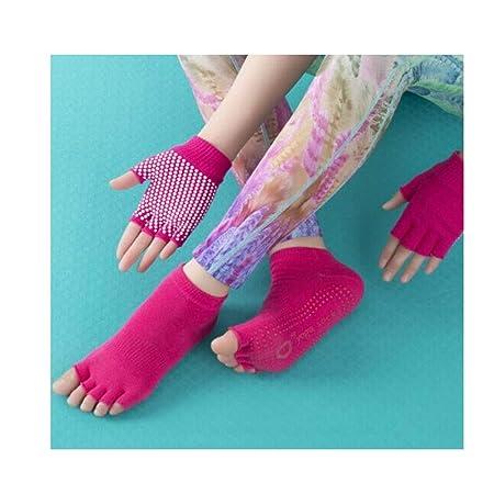 Jiansheng01-ou Calcetines de Yoga, Punta Abierta de Verano ...