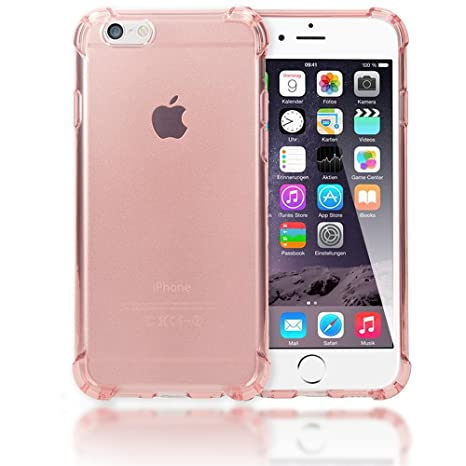 NALIA Funda Carcasa para iPhone 6 6S, Protectora Movil Transparente TPU Silicona Ultra-Fina Gel Bumper, Goma Cubierta Cobertura Delgado Clear Cover ...