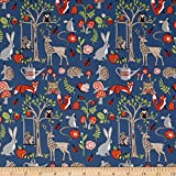 Monaluna Organic Poplin Cottage Garden Cottage Garden Fabric By The Yard