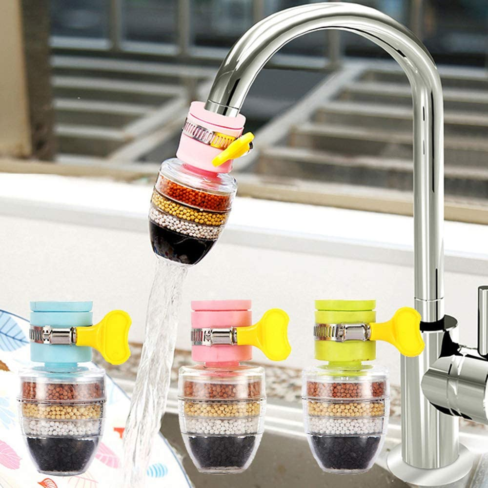 Water Purifier Carbon Faucet Tap Household Activated Kitchen Clean Mini Filter