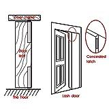 Alise 8-Inch Flush Bolt Gate Latch Double Door