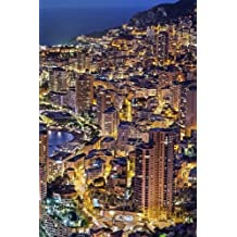 """Monte Carlo Monaco Journal: 150 lined pages, softcover, 6"""" x 9"""""""