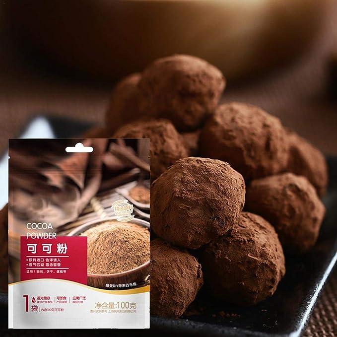 Cedarfiny Cacao en polvo 100 g de cacao en polvo alcalino ...