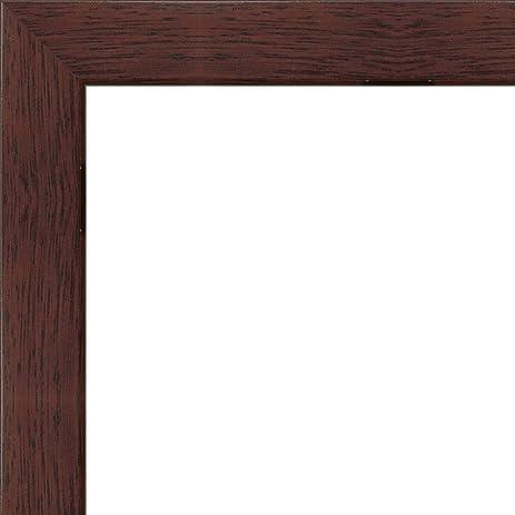 Amazon.com - 12 x 36 Flat Dark Cherry Wood Frame \