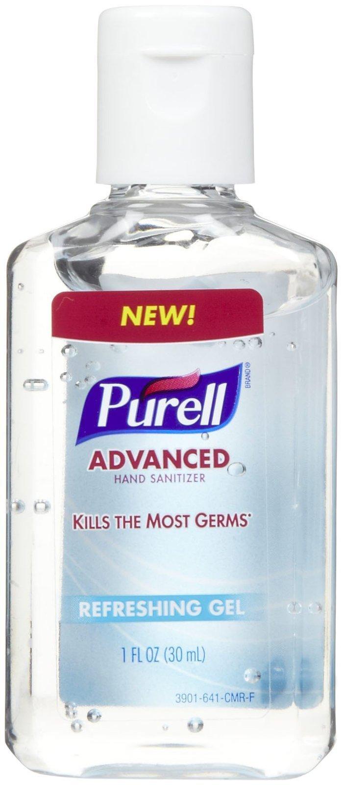 Purell Advanced Hand Sanitizer Refreshing Gel, 1 Fl Oz