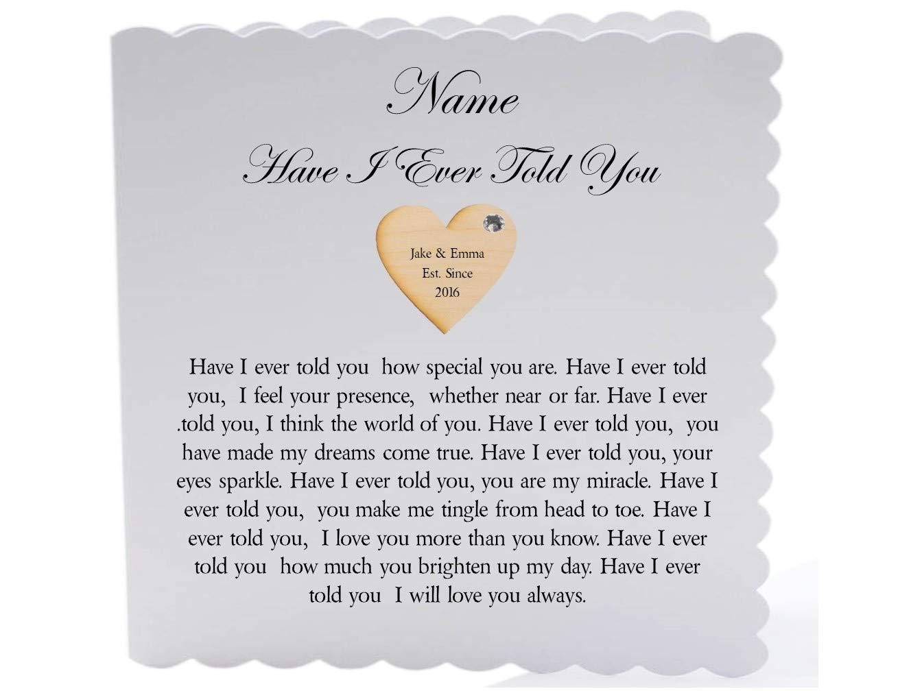 Amazonde Personalisierbar Romantisches Gedicht