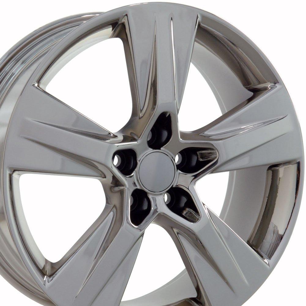 19x7.5 Wheels Fit Toyota, Lexus - Toyota Highlander Style Chrome Rims, Hollander 75163