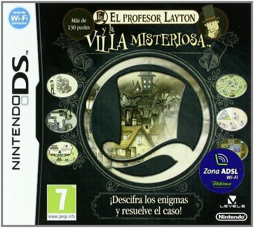Profesor Layton y la Villa Misteriosa: Amazon.es: Videojuegos