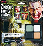 Fun World  Zombie Family Makeup Accessory Kit Accessory, -Multi, Standard