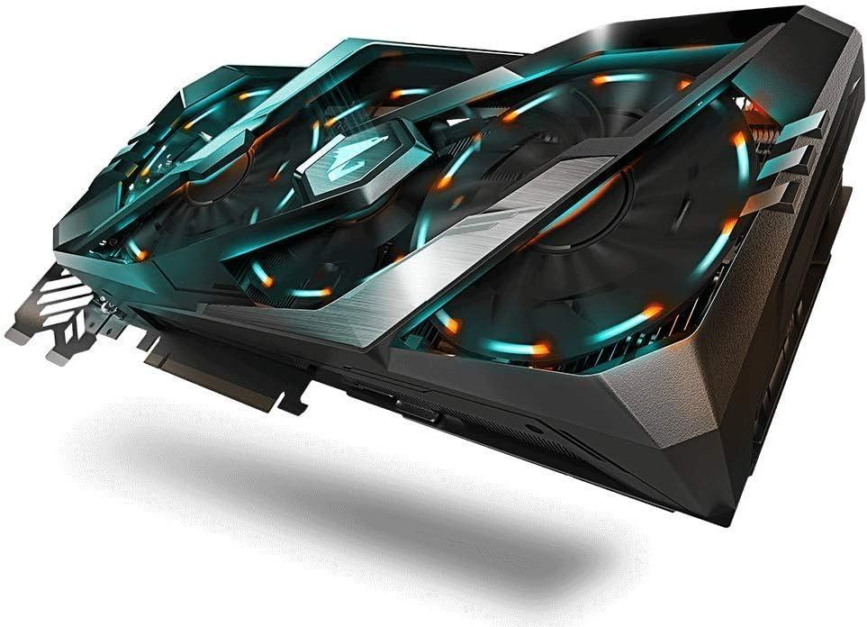 Gigabyte GeForce GV-N208TAORUS X-11GC - Tarjeta gráfica (RTX 2080 Ti, 11 GB, GDDR6, 352 bit, 7680 x 4320 Pixeles, PCI Express x16 3.0)