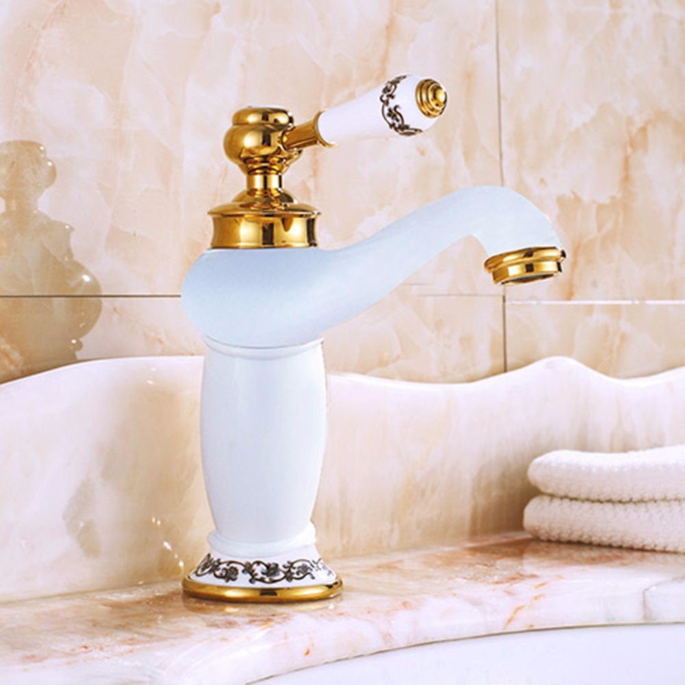 5 Hlluya Professional Sink Mixer Tap Kitchen Faucet Copper, hot and cold, the redation of the basin, sink and faucet