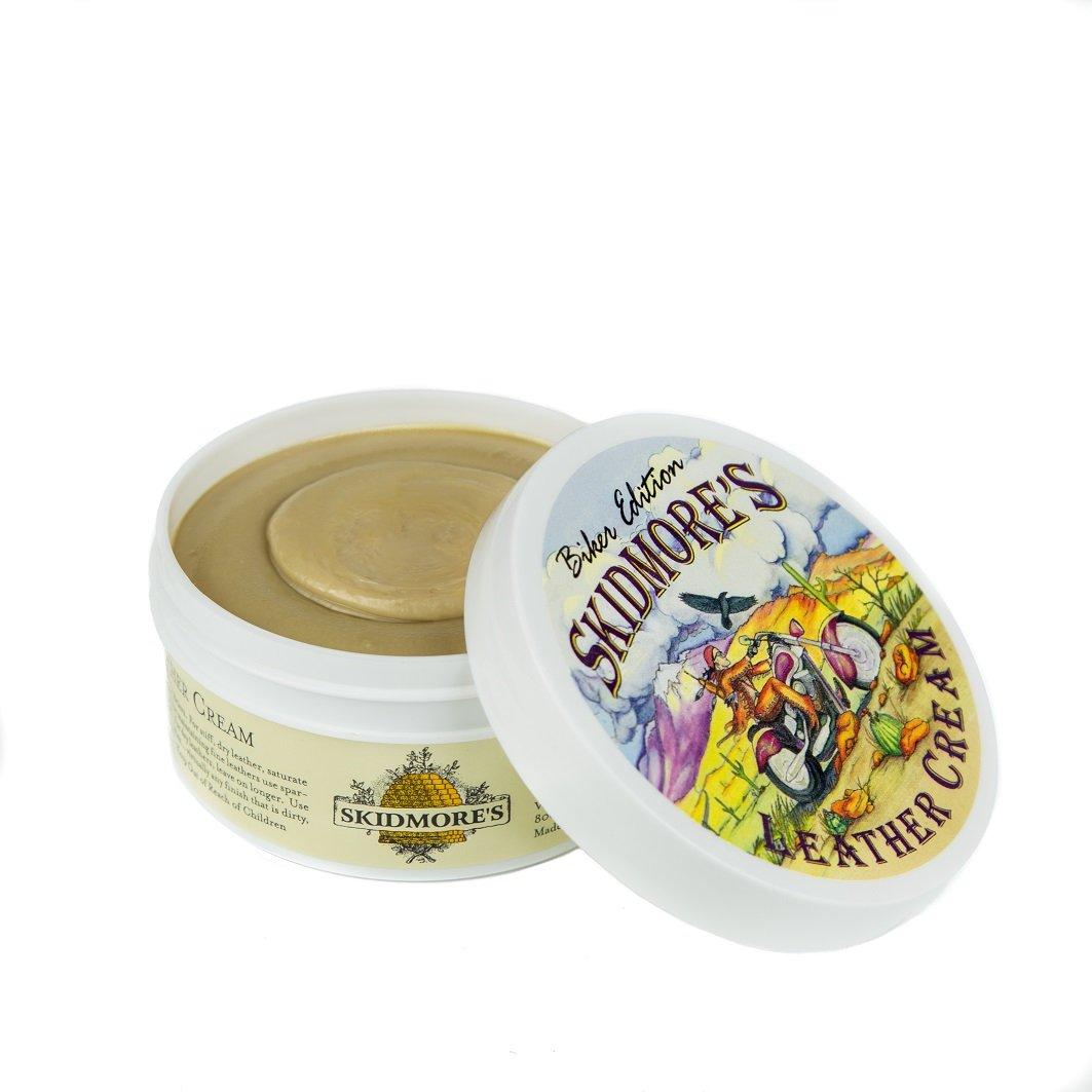 Amazon.com: skidmore Crema de piel biker Edition, todas las ...