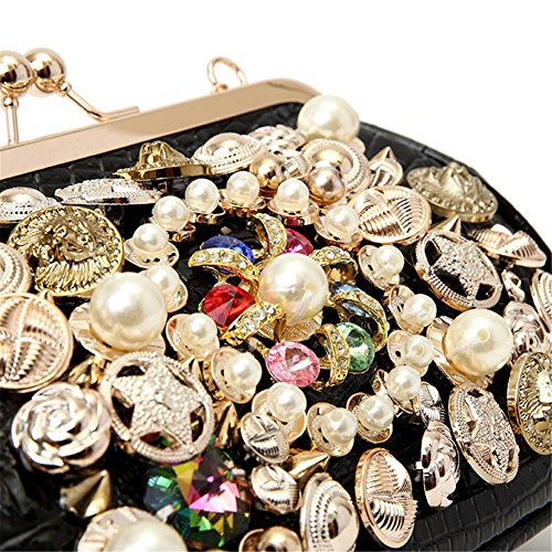Party Bags Chain Clutch Shoulder MGH Dress Women Out Diamond Handbag Evening Wedding 6Y1awPRqa