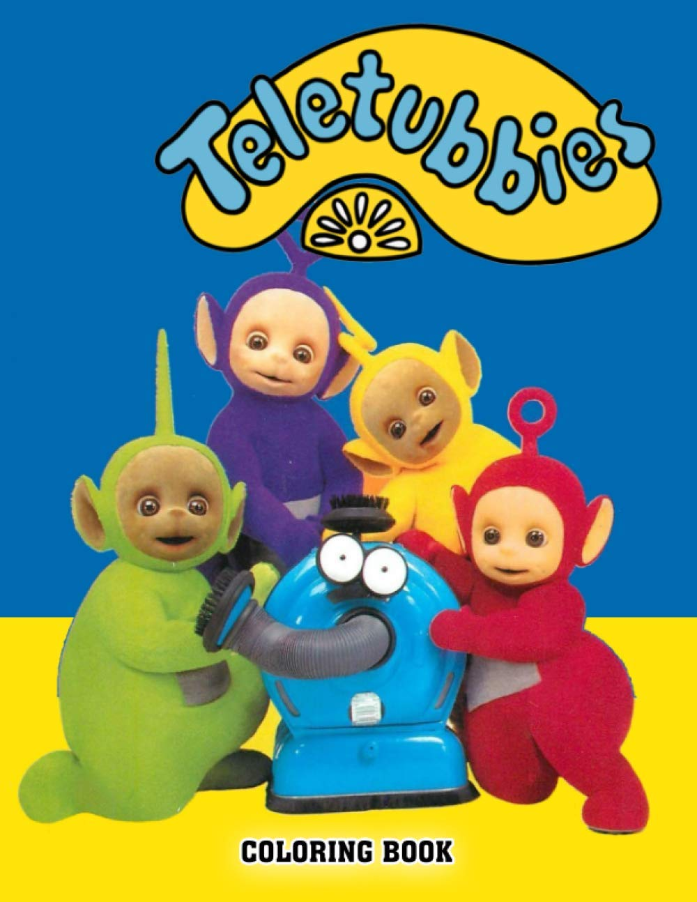 Amazon Com Teletubbies Coloring Book Awesome Illustrations Coloring Books Teletubbies Coloring Books For Kids And Adults 9798691362194 Martin Mcott Books