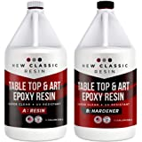 EPOXY Resin for Art, Crafts & Table Tops - Super Clear 1 Gallon kit