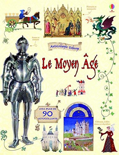 Le Moyen Age - Autocollants Usborne (documentaires) Broché – 28 août 2014 Abigail Wheatley Maria Royse Stephen Moncrieff Samantha Barrett