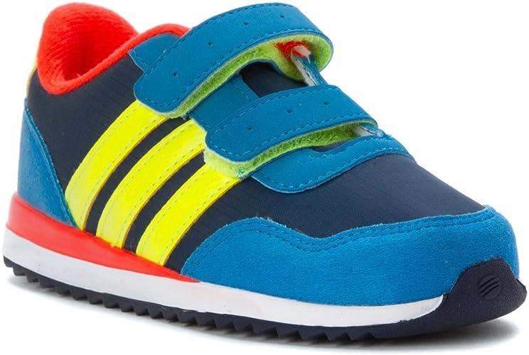 Adidas NEO V Jog CMF INF Runner Sneaker (Infant/Toddler) (3 Infant ...