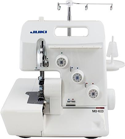 JUKI MO-623 - Máquina de overlock de 3 Hilos (1 Aguja): Amazon.es ...