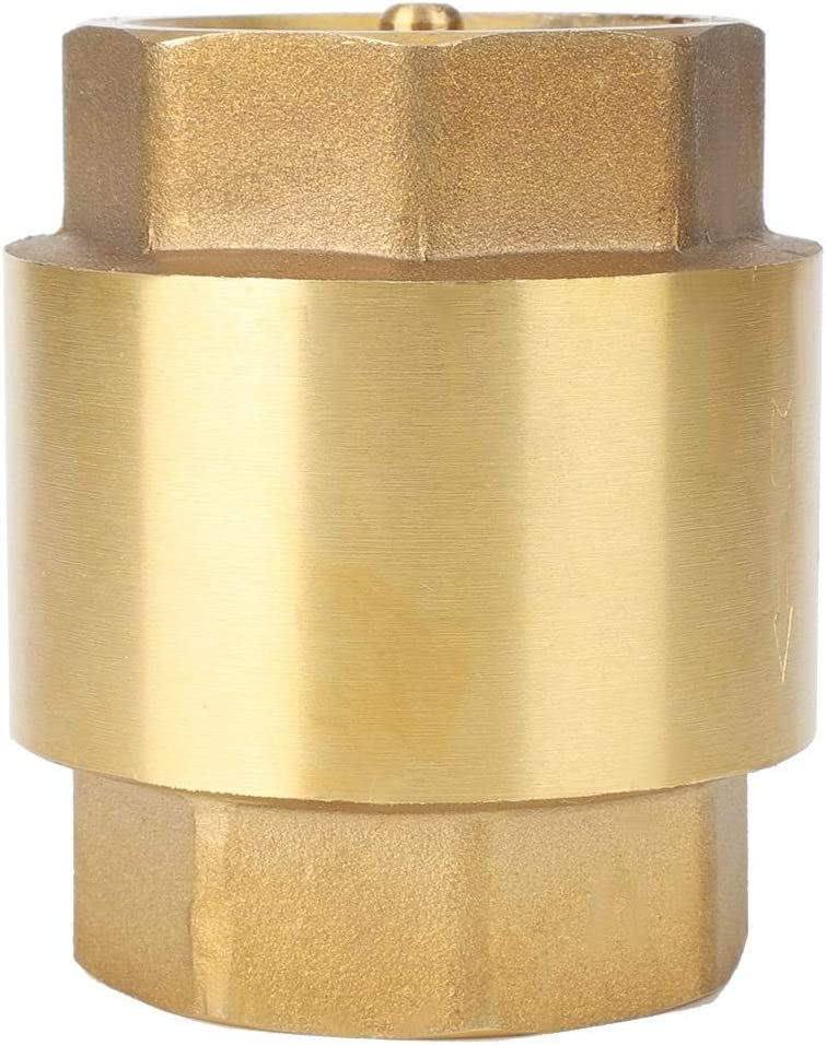 High Accuracy Brass Threaded Check Valve One Way Non-Return Check Valve for Water Gas Oil Check Valve 5.004.004.00
