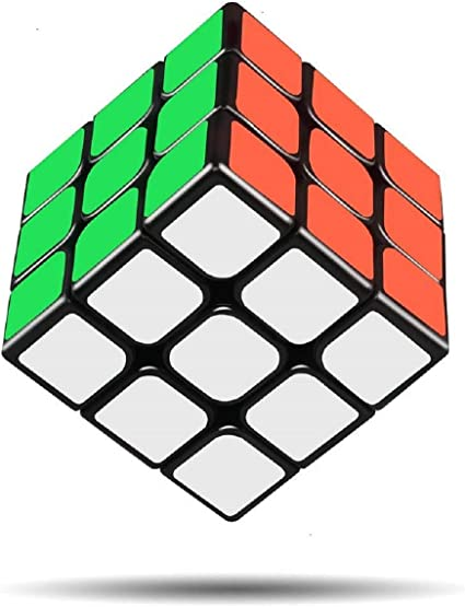 D ETERNAL ABS Plastic 3x3x3 High Speed Stickerless Magic Rubick Cube
