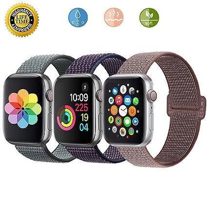 Amazon.com: Loxdn - Correa de repuesto para Apple Watch ...