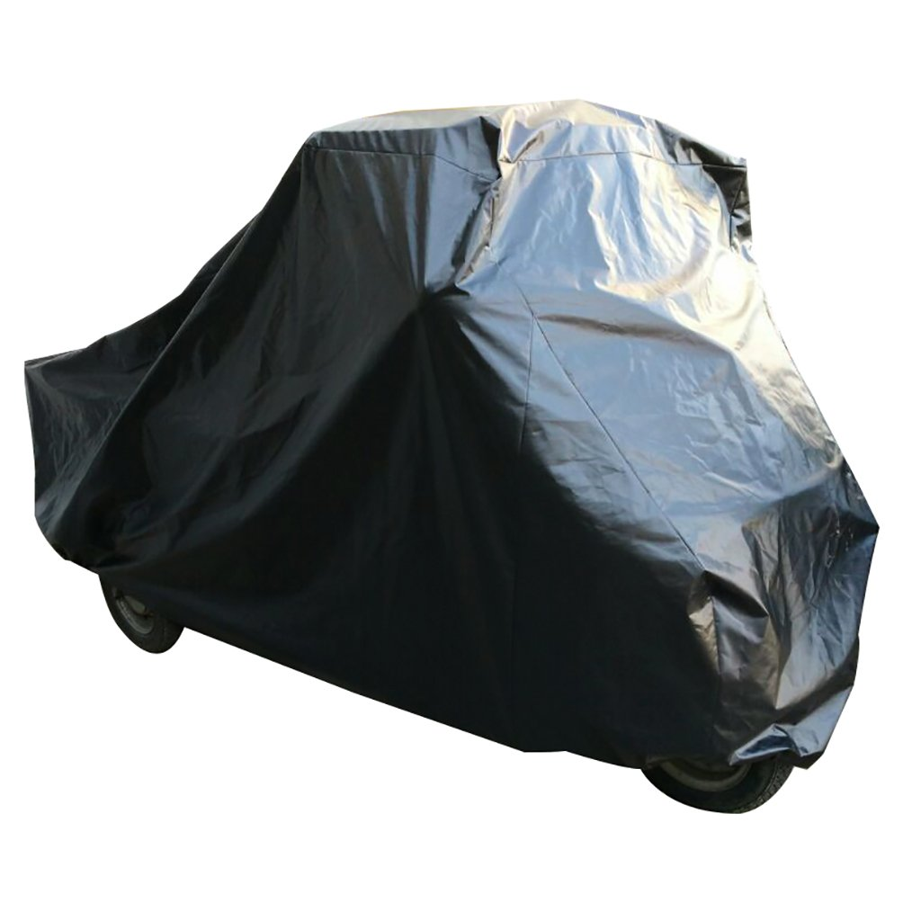 Faltgarage schwarz fü r Piaggio APE 50 Garage Outdoor kurze Pritsche Spinelli