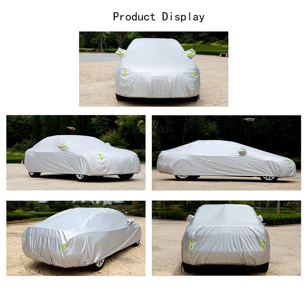 Color : C, Size : 2007 6.0L Manual Compatible with AstonMartin DB9 Volante Yguocy Car Covers Thick and Cotton Velvet Hood Can Adapt to All Kinds of Weather