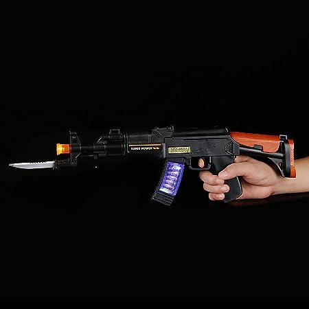 Amazon.com: Fun central (AU038) LED pistola de juguete – 16 ...