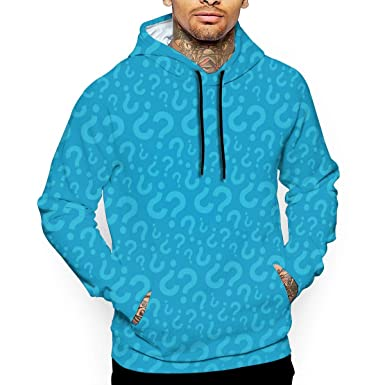 Mens 3D Print Pullover Sweaters Shirt Hoodie for Man Sweater Hooded Jacket  with Pocket - Lego 938948313