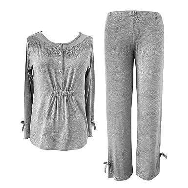 7eb1f5a4370e Sleepy Time Women s Bamboo Pajamas