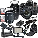 Canon EOS Digital Rebel T6s 24.2MP SLR Digital Camera with Canon EF-S 18-55mm f/3.5-5.6 IS STM Lens + Tamron AF 70-300mm f/4-5.6 Lens + 2pc SanDisk 32GB Memory Cards + Battery Grip Review
