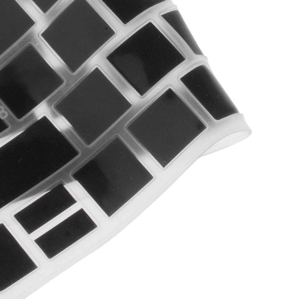 11 MagiDeal Protector Cubierta de Piel Teclado de Silic/ón para HP Pavilion 15inch Accesorios Informatico