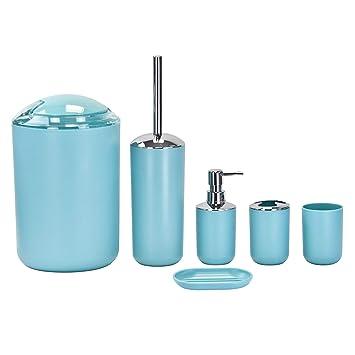 Ensemble de 6 accessoires de luxe pour salle de bains Coloris ...