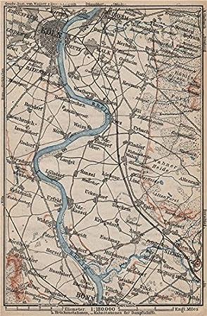 Köln Karte Deutschland.Rheine Rhein Aus Von Köln Köln To Nach Bonn Deutschland Karte