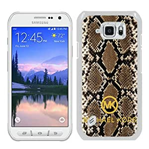 Great Quality M-K Samsung Galaxy S6 Active Case ,Newest M-K 43 White Samsung Galaxy S6 Active Cover Case Unique And Beautiful Designed Phone Case