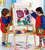 Kids Arts and Crafts Painting Special, Includes Grow With Me Art Easel, Paper Roll, Paint Pots, Brushes, and Tempera Paints