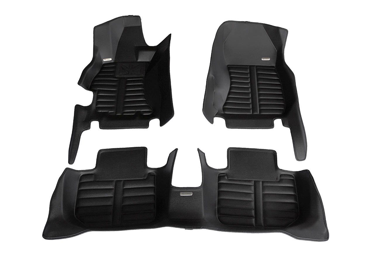 TuxMat Custom Car Floor Mats for Subaru WRX/WRX STI 2015-2019 Models - Laser Measured, Largest Coverage, Waterproof, All Weather. The Ultimate Winter Mats, Also Look Great in the Summer. The Best Subaru WRX/WRX STI Accessory. (Full Set -