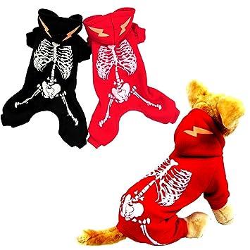 0315d119eb6d3 Amazon.com : Glumes Halloween Costumes Pets Dogs Cats, Halloween ...