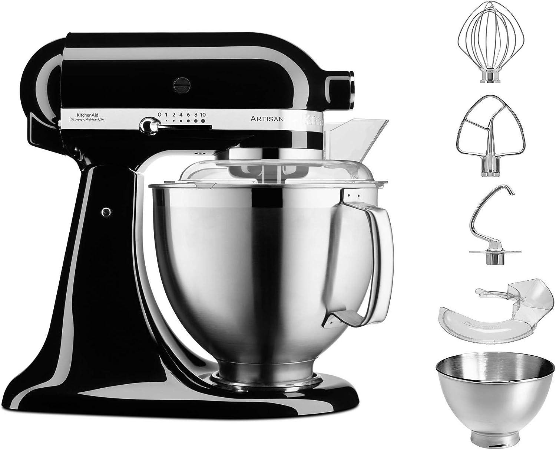 Compra Kitchenaid 5KSM185PSEOB - Robot de cocina, aluminio en Amazon.es