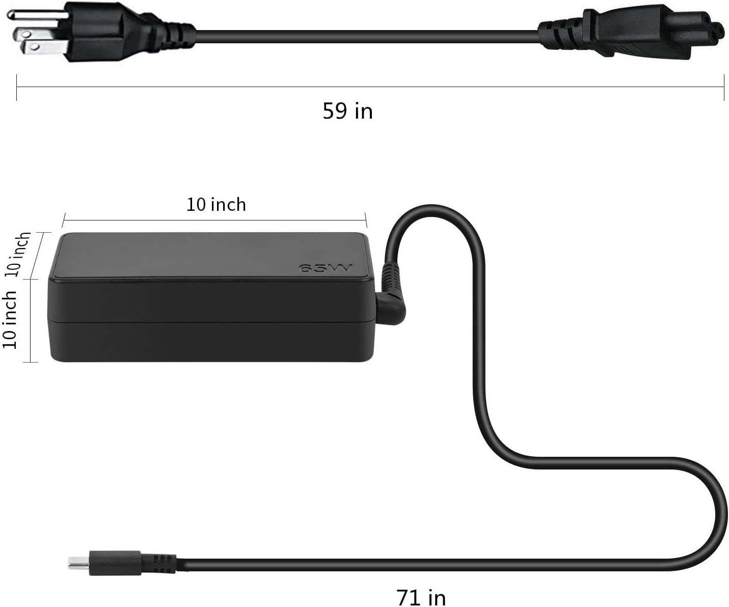 Laptop & Netbook Computer Accessories Chargers & Adapters 65W 45W ...