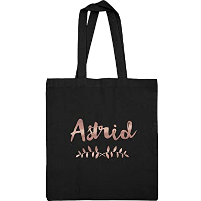 Astrid Metallic Rose Gold Tote: Liberty Bags Canvas Tote Bag new