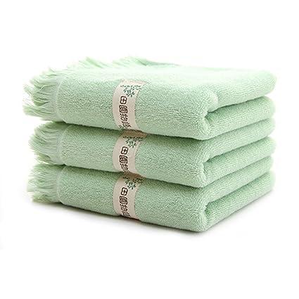 Suave Absorbente toalla de cara, 30 cm x 90 cm, 100% algodón