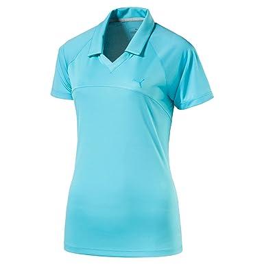 Puma Golf W - Polo de Malla para Mujer, Mujer, Color Blast, tamaño ...