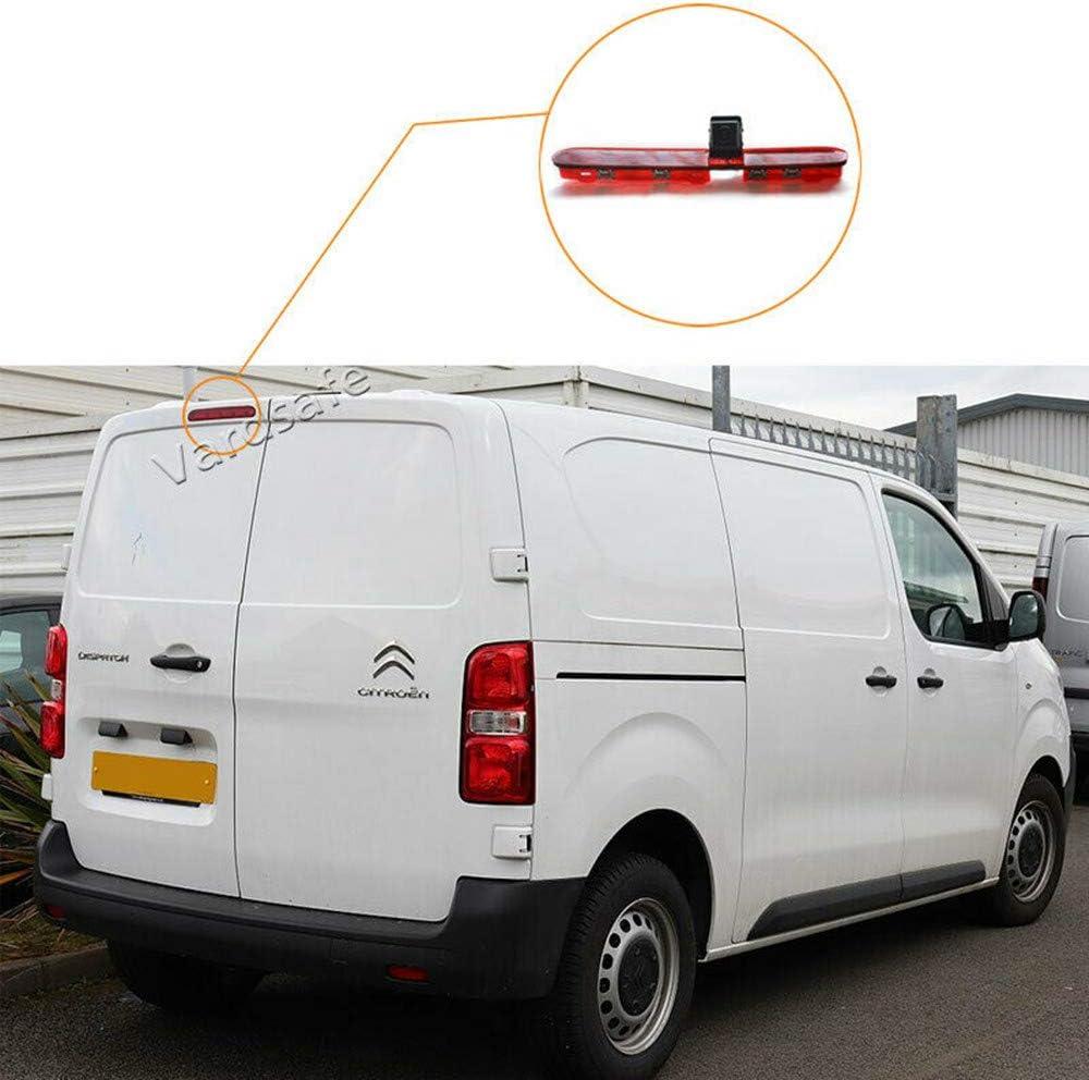Vardsafe VS536R - Cámara de visión Trasera y Espejo de Repuesto para Citroen Jumpy Dispatch SpaceTourer Peugeot Expert Traveller ProAce: Amazon.es: Electrónica