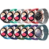 EverAct Compatible Bands for Samsung Galaxy Watch Active / Active 2 & Galaxy Watch 3 40mm / 41MM / 42mm / 44mm, Gear S2…