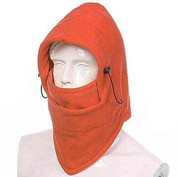 5e1b7b48dc7 Ezyoutdoor Windproof Bucket Hat New Winter Thermal FLEECE Swat Ski Face  Mask Hat for Outdoor Sports