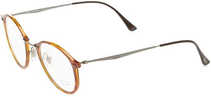 Amazon.com  Ray-Ban Unisex RX7073 Eyeglasses Light Havana 49mm  Shoes 19ad14e6528b