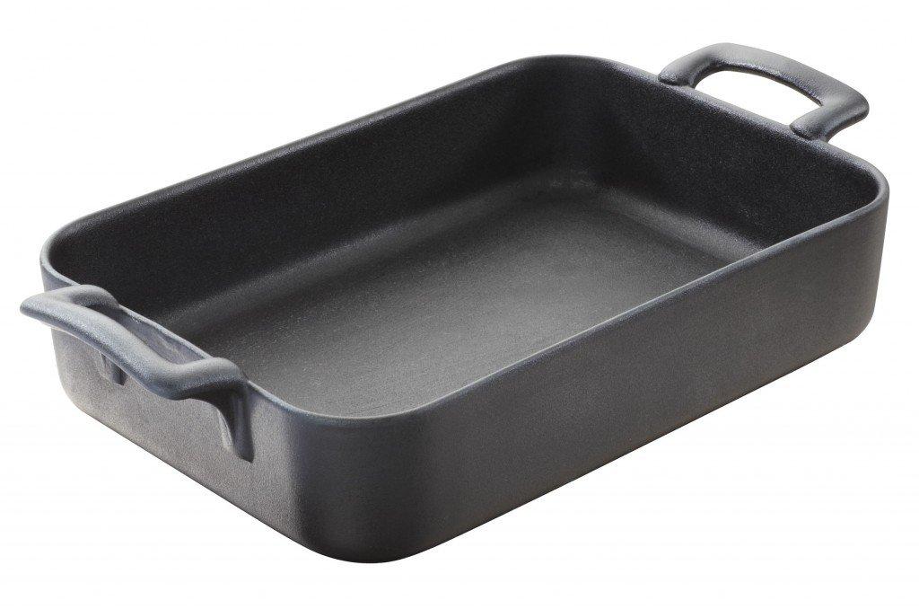 Revol Belle Cuisine 642072 Roasting Dish, 123-1/2-Ounce, Slate