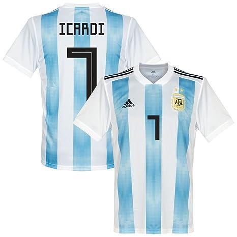 adidas Argentina Icardi 7 casa Maglia 20182019 (Direction